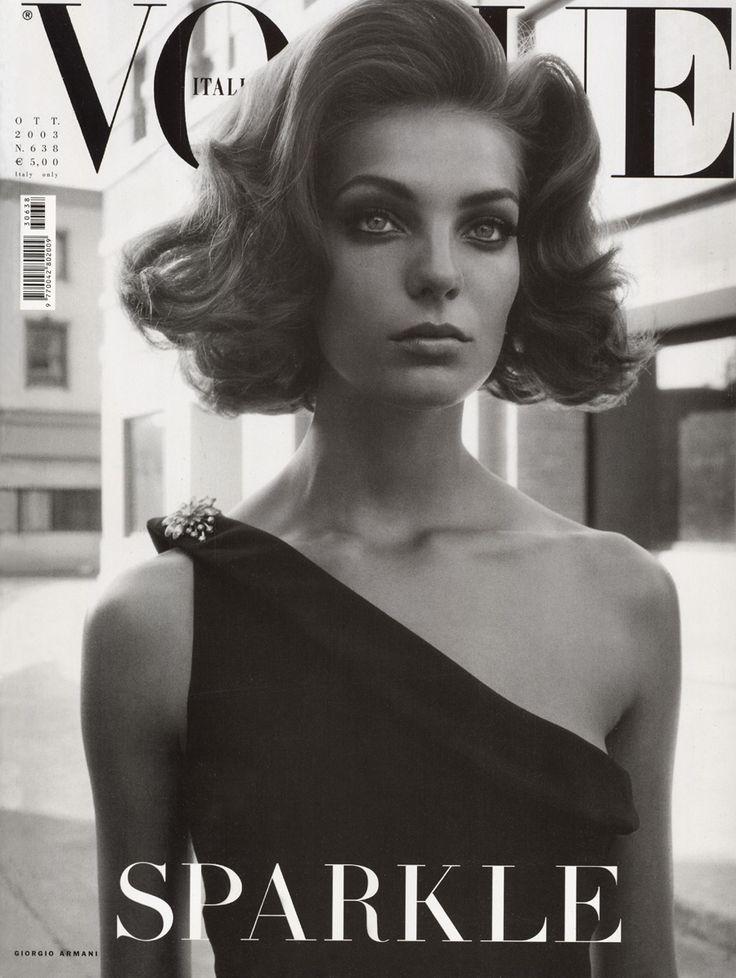 Daria Werbowy by Steven Meisel Vogue Italia October 2003