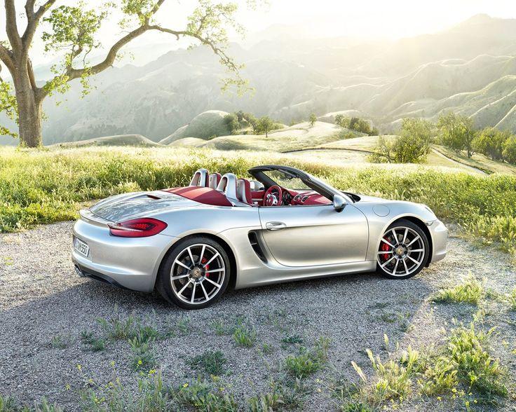 2013 Porsche Boxster Front Side