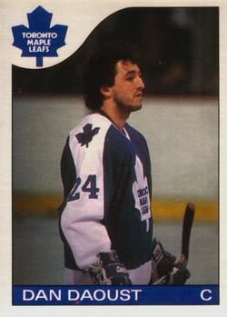 1985-86 O-Pee-Chee #164 Dan Daoust Front