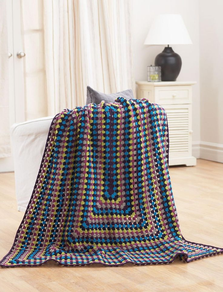 Quick and Easy Jeweled Afghan | AllFreeCrochet.com