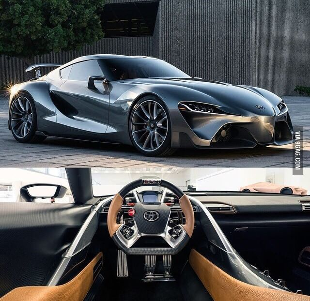 Please Toyota Bring This Car To Production! (NEXT GEN SUPRA)