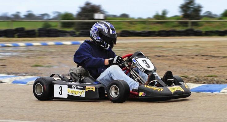 Este #Kart funciona con un motor sin pistones