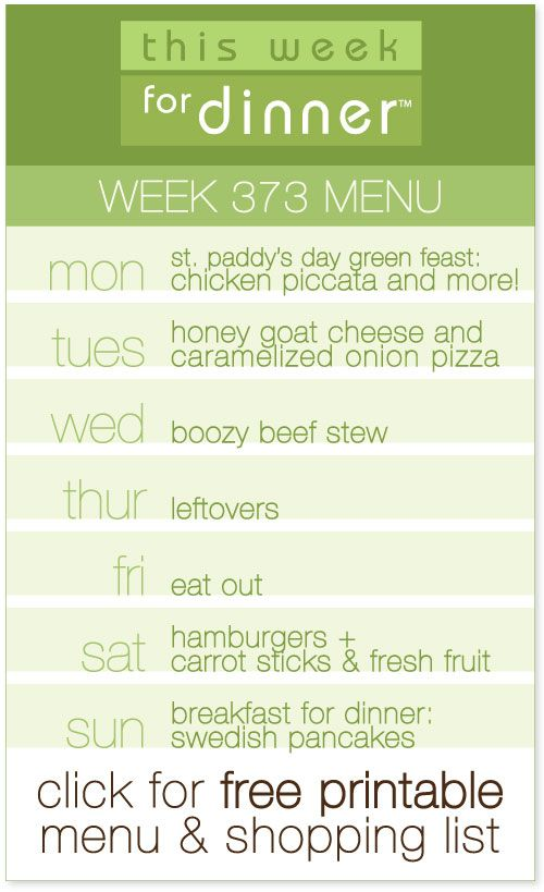 The 25+ best Weekly menu planning ideas on Pinterest Weekly menu - weekly menu
