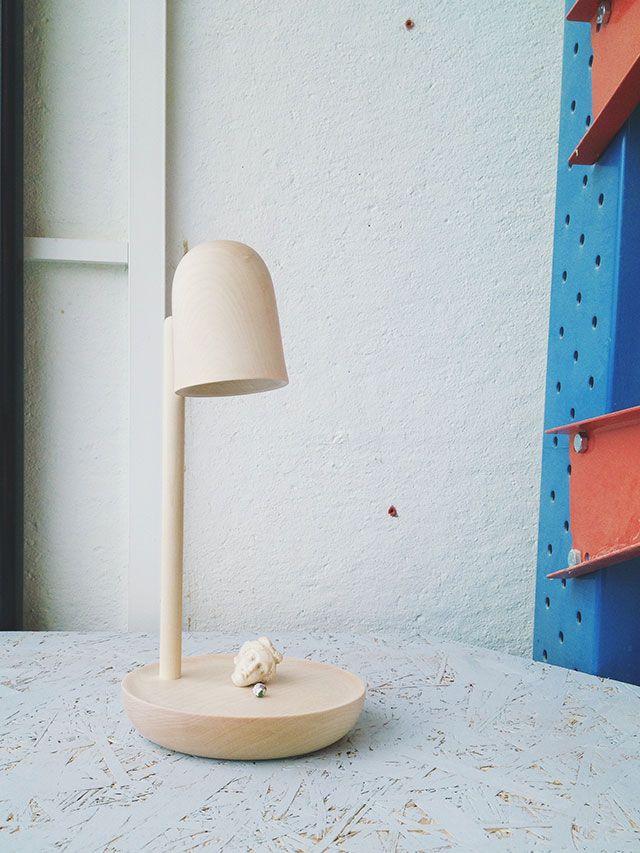 Salone Del Mobile 2015 - Andreas Bergsaker presenta la lampada Piedistallo. #SaloneSatellite