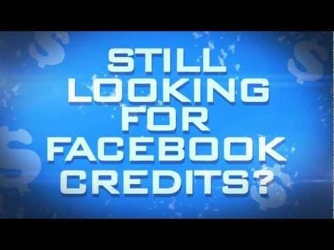Free Facebook Credits Codes