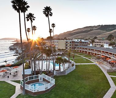 U.S. Beachfront Hotels Under $200: SeaCrest OceanFront Hotel Pismo Beach on Pacific Coast Hwy. California