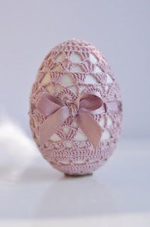 Horgolás minden mennyiségben!!!: Horgolt húsvéti tojás leírása