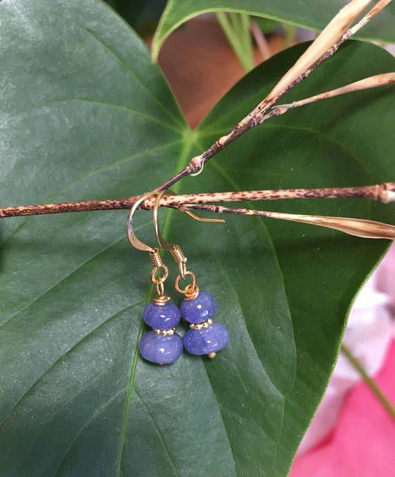 Tanzanite Earrings Gemstone Jewelry Gemstone earrings