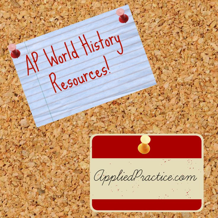 AP and Honors World History Resources that will challenge students and improve test scores! AppliedPractice.com #APWorld #TeacherResources #AppliedPractice