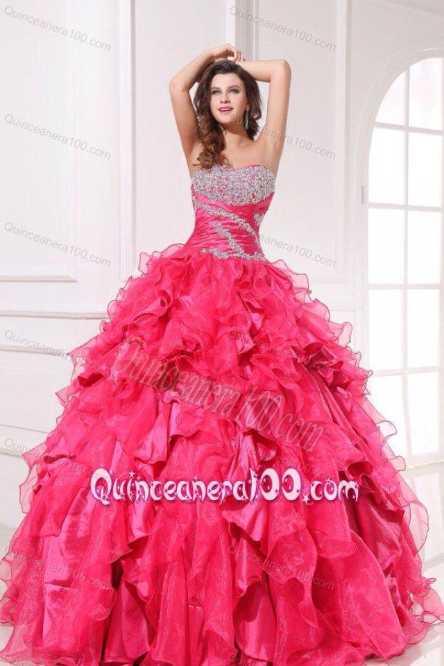 Mejores 159 imágenes de ♡ Vestidos de baile // Rosa ♡ en Pinterest ...