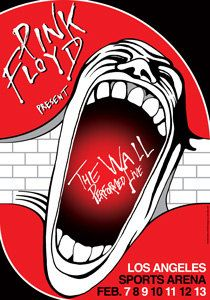 PINK FLOYD   7 february 1980 Los Angeles Sports Arena by tarlotoys,
