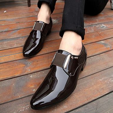 herenschoenen gesloten teen platte hak Oxford schoenen meer kleuren beschikbaar - EUR € 24.99
