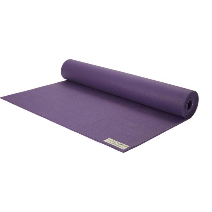 Jade Yoga Harmony Professional 4.7mm Yoga Mat, Purple