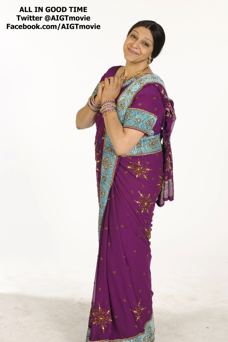 Here's Meera Syal looking lovely...if you're into India grannies LOL