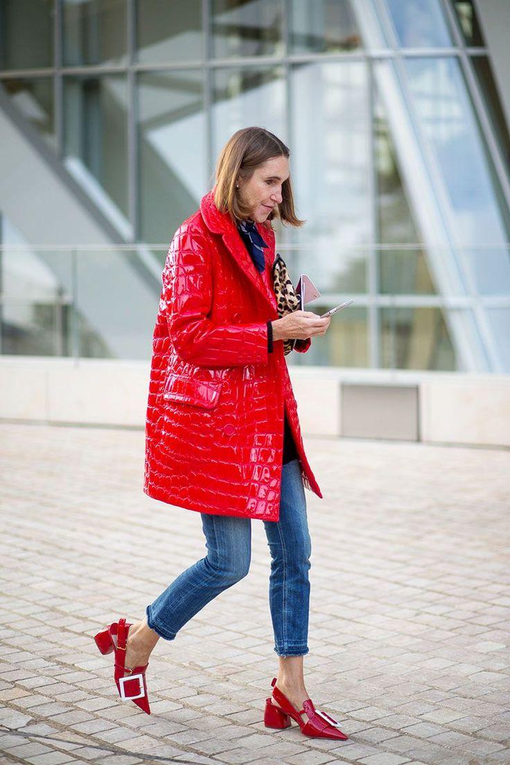 The Paris Way: Fashion Week Street Style Day 8 - HarpersBAZAAR.com
