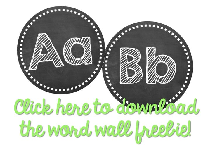 Little Minds at Work: Getting the Classroom Back to School Reading {Word Wall}