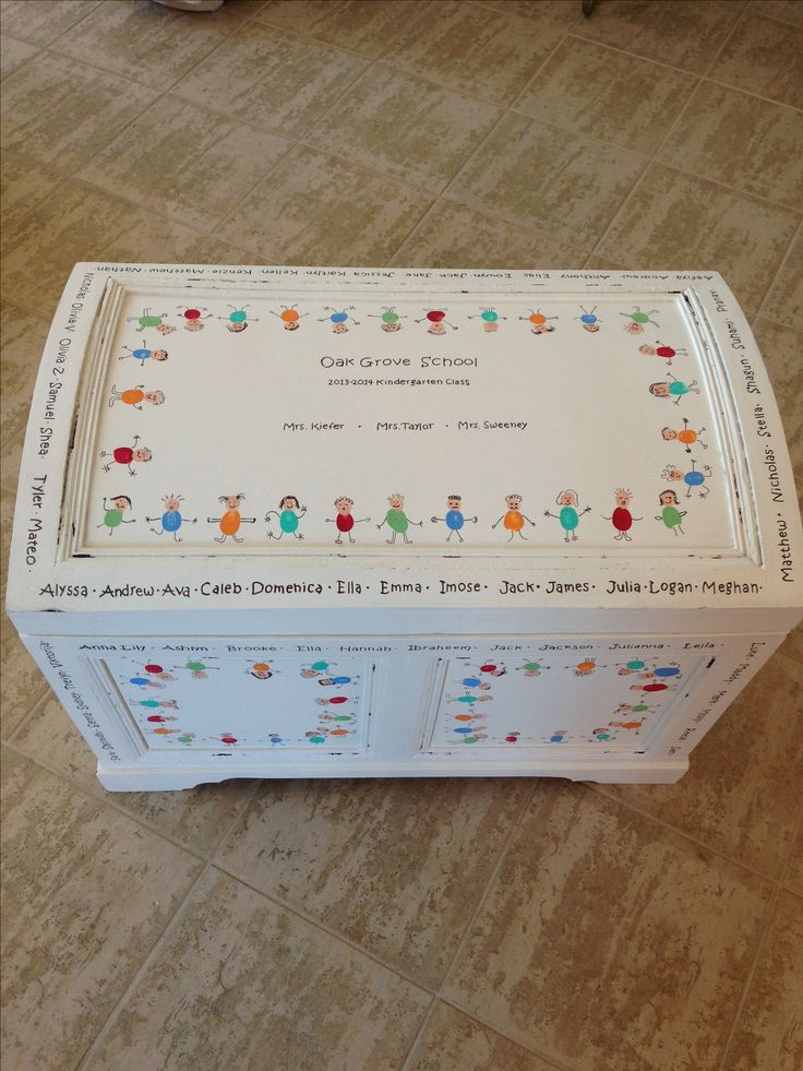 Classroom projects for auction