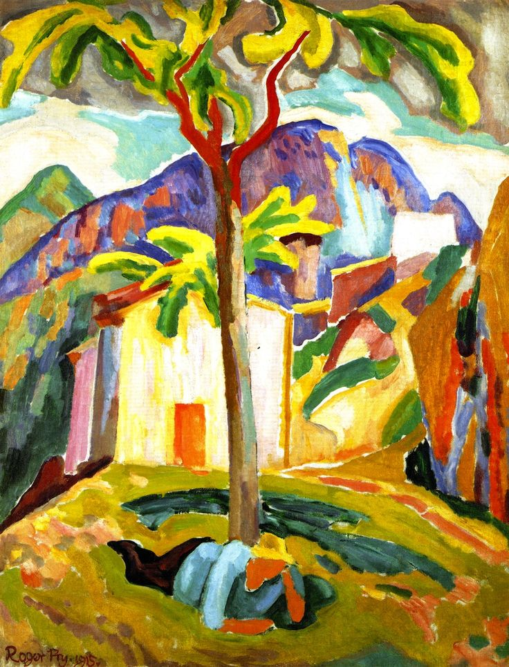 Ste Agnès, South of France (Roger Fry - 1915).