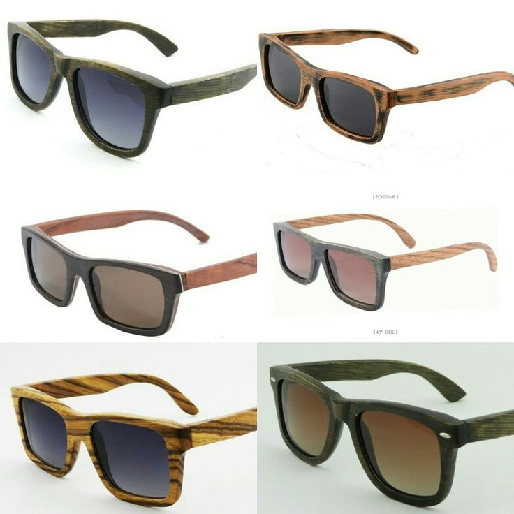 Our new selection of bamboo sunglasses being added to our website with free international shipping and pay safe PayPal