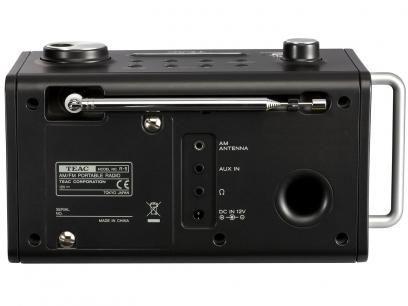 Rádio Relógio Despertador/Alarme AM/FM - Entrada Auxiliar Display Digital - TEAC R5 com as melhores condições você encontra no Magazine 233435antonio. Confira!