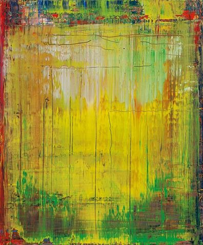"""Gerhard Richter: """"Abstract Painting"""", 2009. (oil on canvas -- 60 cm x 50 cm)"""