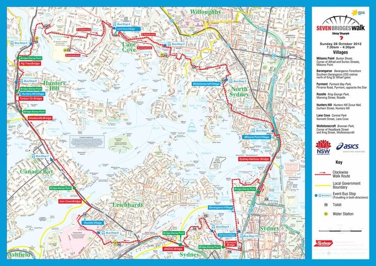 7 Bridges Walk - Sydney