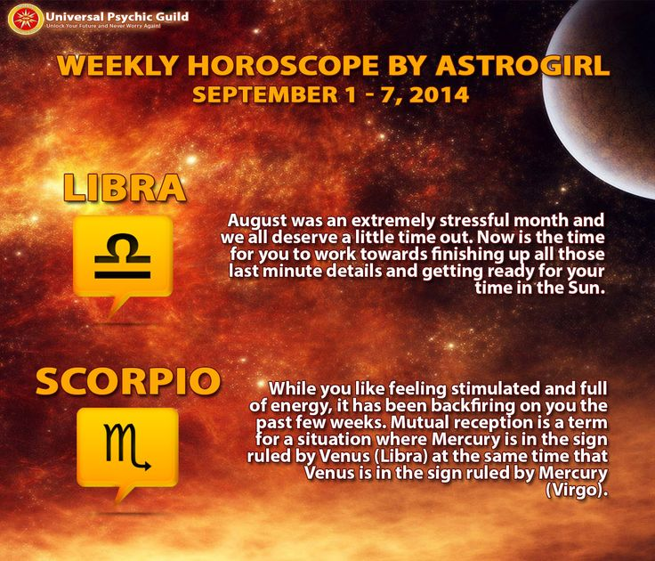 #WeeklyHoroscopes for Zodiac Sign #Libra and #Scorpio! Plan your WEEK ahead!
