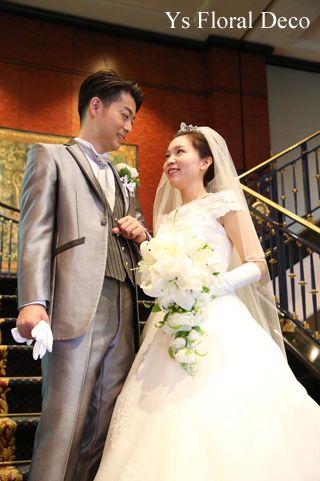 わぁ、素敵なおふたり(^^) 6月にウェスティンホテル東京さんで挙式ご披露宴の新婦さんのお母様より、当日のお写真をいただきましたので、ご紹介いたします。ウ...