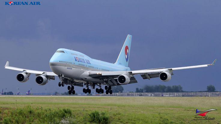 Toutes les tailles | Korean Air Lines / Boeing 747-4B5 / HL7461 | Flickr : partage de photos !