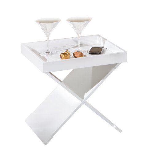 Links-99800570-Beistelltisch-Wohnzimmertisch-Nachttisch-Tablett-Tisch-Tabletttisch-wei-NEU