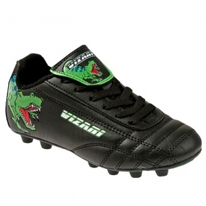SALE - Vizari T-Rex Soccer Cleats Kids Black Synthetic - Was $23.99 - SAVE $4.00. BUY Now - ONLY $19.99