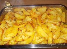 Cartofi aurii la cuptor