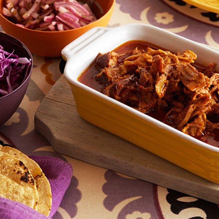 Shredded Pork Tacos By Marcela Valladolid