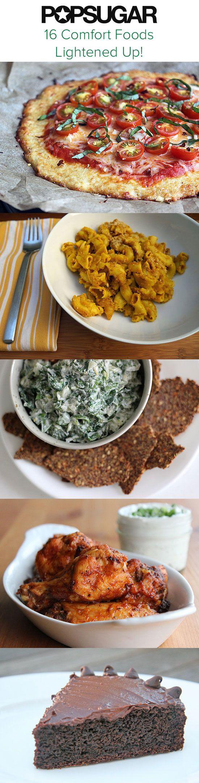 16 classic comfort foods lightened up!