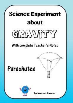 Science Experiment about Gravity - Parachutes