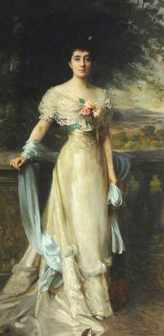 BBC - Your Paintings - Mrs Hanly, Mother of Gladys Consuelo Chichester Constable
