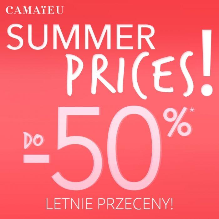 CAMAIEU: letnie, okazyjne ceny