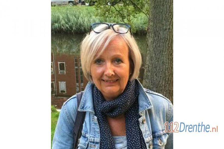 112 Drenthe - Vermist: Ineke van der Graaf