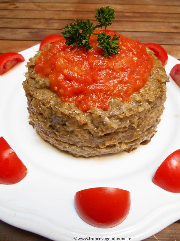 Papeton d'aubergine (végétalien, vegan)