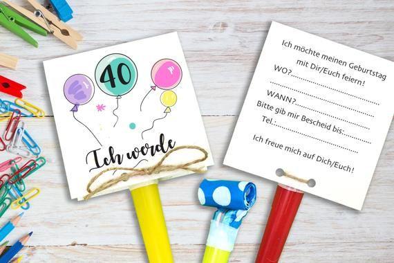 Eine Ganz Besonders Susse Art Und Weise Eure Geburtstagsgaste Zu Eurem Nachsten Runden Geburtstag Einzuladen Sind Diese Invitations It S Your Birthday Birthday
