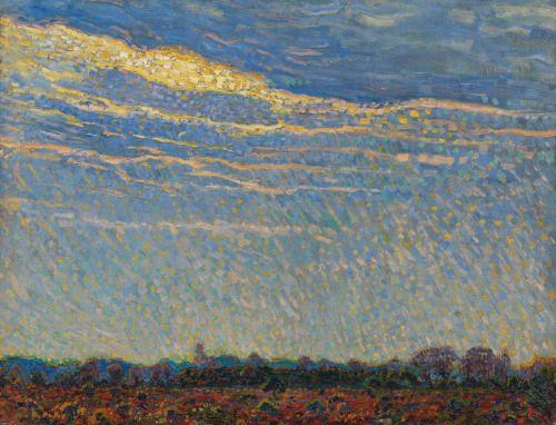 Autumn Day, Leo Gestel, 1909