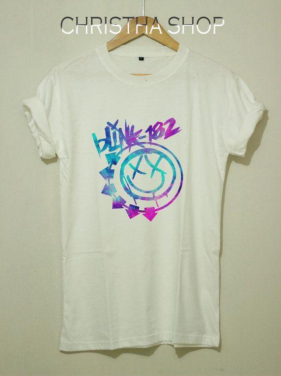 WELCOME MY SHOP :) // Blink 182 Shirt Blink 182 Tshirt Blink182 Shirt American Rock Logo CS-Blink182 Men Women Blink 182 Shirt // SIZE ====