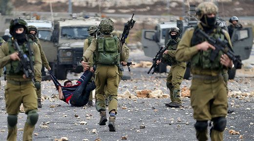 RT Wed, 17 Feb 2016 13:55 UTC   © Mohamad Torokman / Reuters (file photo) One soldier from the Netzach Yehuda battalion has been sentenced to seven months in prison for his role in the abuse of a... http://winstonclose.me/2016/02/18/idf-soldier-who-electrocuted-blindfolded-palestinian-for-fun-laughed-while-filming-gets-light-sentence-keeps-job-written-by-rt/
