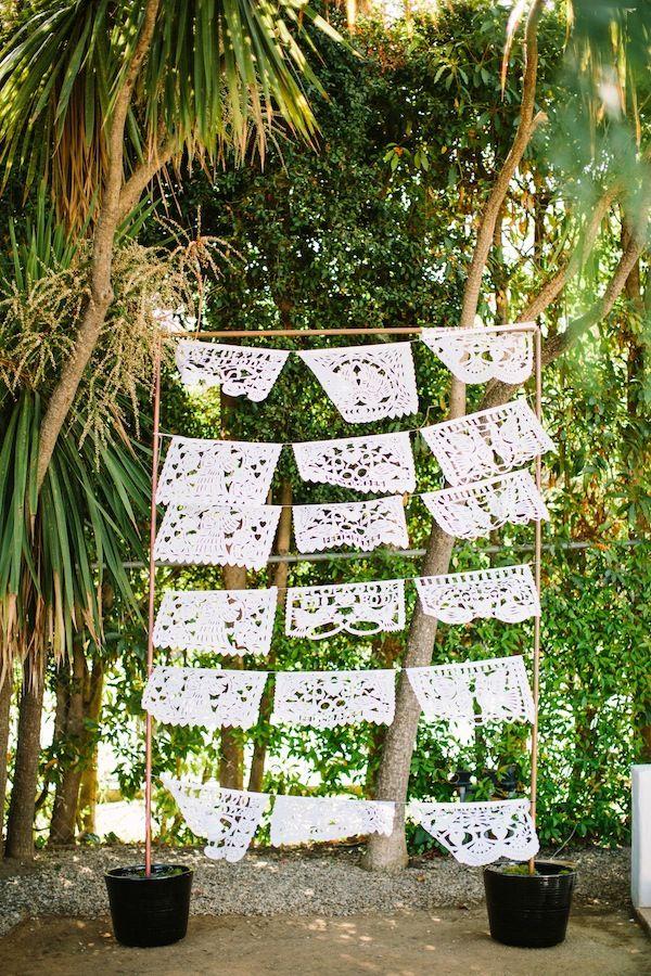 Papel Picado Photo Booth