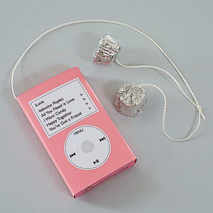 iPod Valentine (free printable)