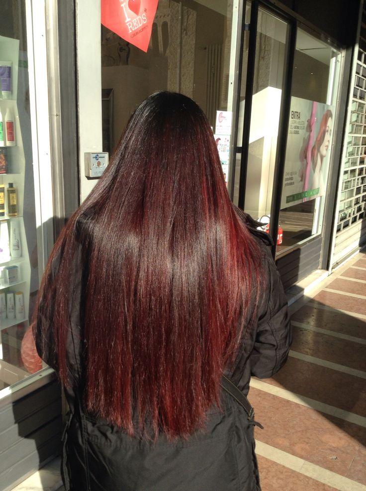 Shatush rosso
