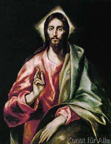 El Greco - Christus der Erlöser