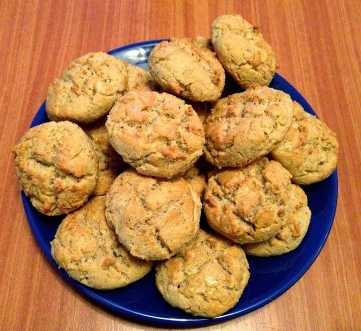 Töpörtyűs pogácsa (paleo recept)