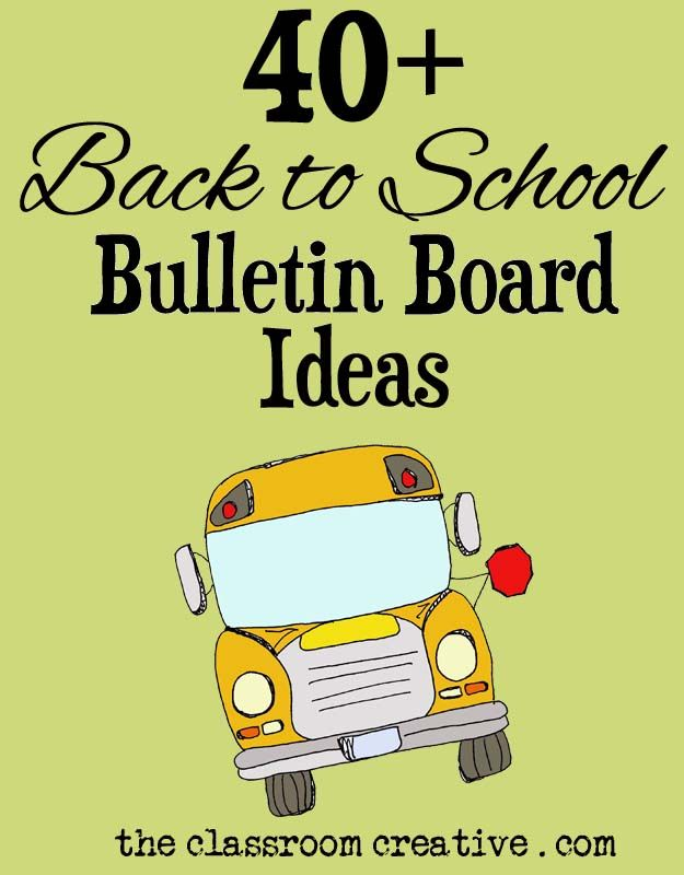 Classroom Ideas Back To School ~ Back to school bulletin boards for high