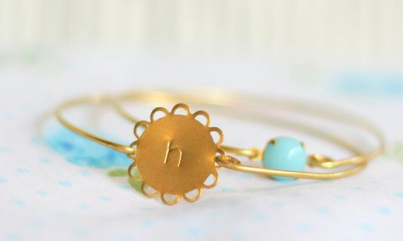 Personalized Small Round Lace Edged Inital by SweetAuburnStudioKid, $23.00